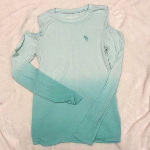 Abercrombie Kids Aqua sweater